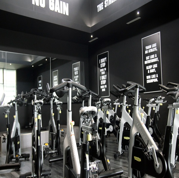 fitness à l'eden club Tanger