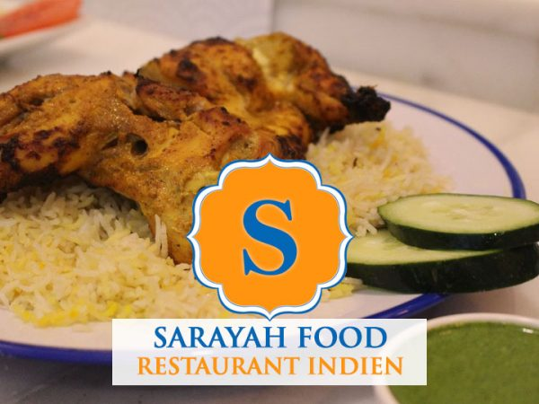 Sarayah food restaurant indien