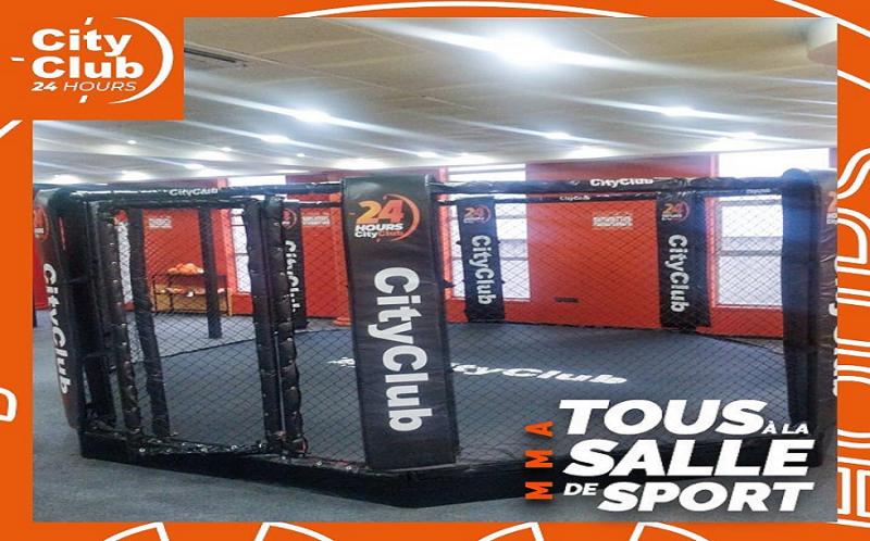 salle de sport city club Tanger