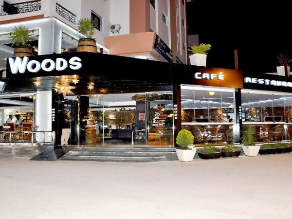 woods café restaurant Tanger